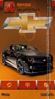 Chevrolet Camaro theme screenshot
