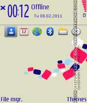 Nokia developer theme screenshot