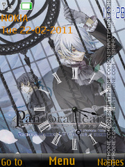 Pandora Hearts theme screenshot