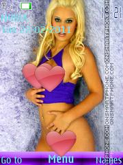 Sexy model67 es el tema de pantalla