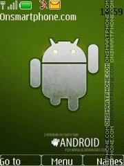 Android Green es el tema de pantalla