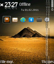 Pyramid 02 theme screenshot