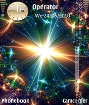 Nokia Theme - lights theme screenshot