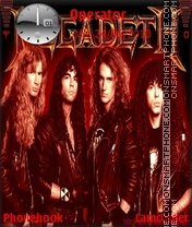 Megadeth theme screenshot