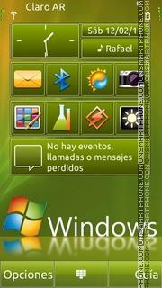 Windows7 Theme theme screenshot