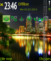 City light 01 theme screenshot