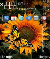 Sunflower 09 theme screenshot