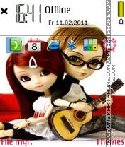 Two Lovers theme screenshot