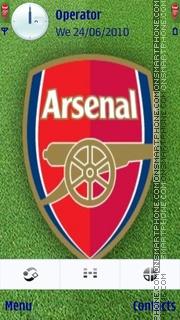 Arsenal Theme-Screenshot