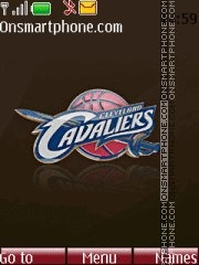 Cleveland Cavaliers 02 theme screenshot