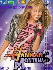 Hannah Montana 3 theme screenshot