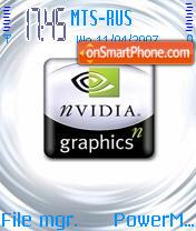 Nvidia theme screenshot