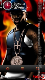 g unit 50cent by di_stef theme screenshot