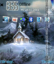 Snowhouse theme screenshot