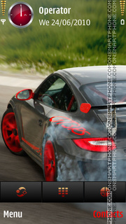 Porsche 911 by dimitar theme screenshot