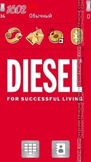 Скриншот темы Diesel