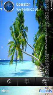Caribien by di_stef theme screenshot