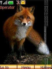 Foxes theme screenshot