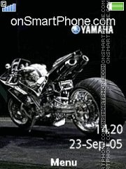 Yamaha With Tone 01 theme screenshot