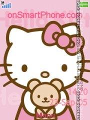 Hello Kitty 41 es el tema de pantalla