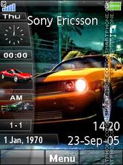 Скриншот темы Nfs Slide Bar 01