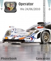 911 GT1 theme screenshot