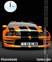 Mustang tema screenshot