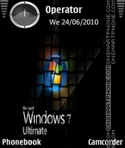Windows 7 ultimate tema screenshot