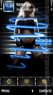Nokia Connecting theme screenshot