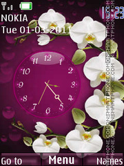 Orchid tema screenshot