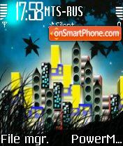 Citynight es el tema de pantalla