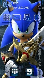 Sonique theme screenshot