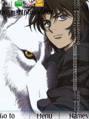 Wolf's Rain theme screenshot