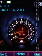 Скриншот темы Glow speed