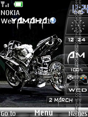 Скриншот темы Yamaha With Tone 02