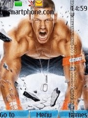 John Cena 15 theme screenshot