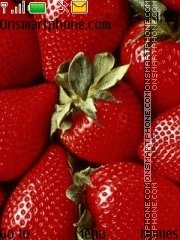 Strawberries 03 theme screenshot