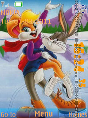 Bugs Bunny 15 theme screenshot