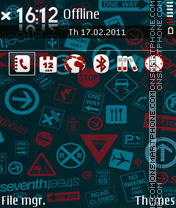 Signs 03 theme screenshot