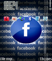 Facebook 04 theme screenshot