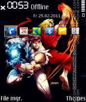 Hadoken theme screenshot