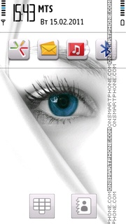 Blue Eye 03 Theme-Screenshot