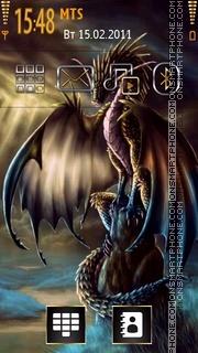 Colorful Dragon theme screenshot