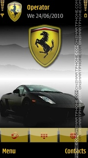 Ferrari tema screenshot