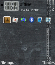 Sticker I Phone theme screenshot