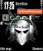 Скриншот темы Piratka