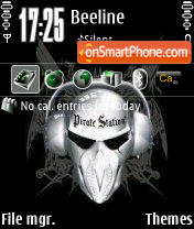 Piratka theme screenshot