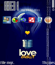 Love Energy 02 theme screenshot