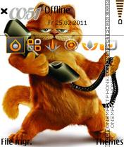 Funny Cat 04 theme screenshot