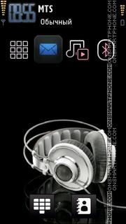 2011 Icons Headphones theme screenshot